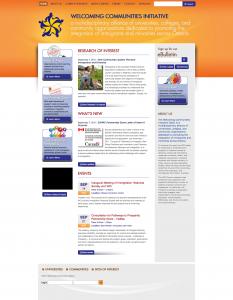 New WCI Homepage