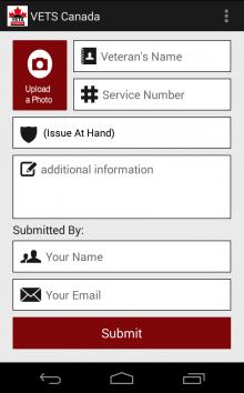 VETS Canada App 2