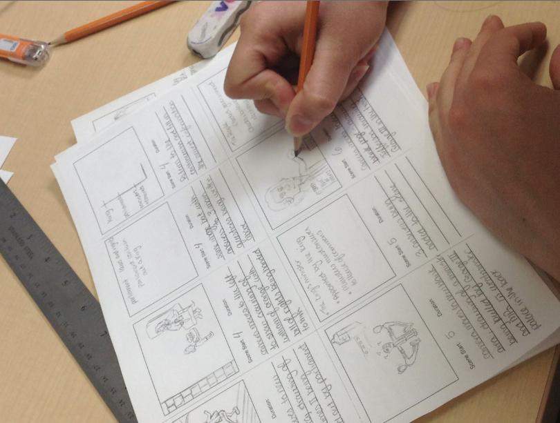 OAK storyboarding